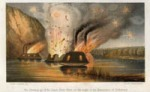 Destruction of the CSS Richmond-based Ironclads